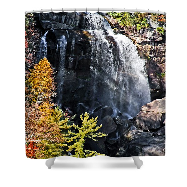 Whitewater Falls Shower Curtain
