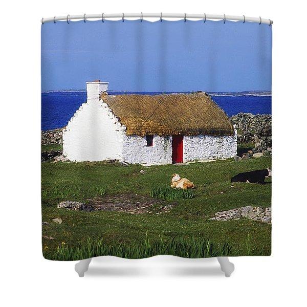 Near Ballyconneely, Connemara Co Shower Curtain