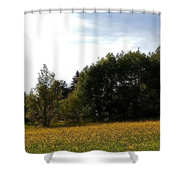 Neighbours Garden ... Shower Curtain