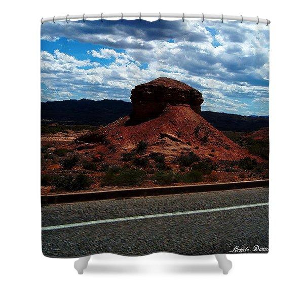 Nevada Usa Shower Curtain