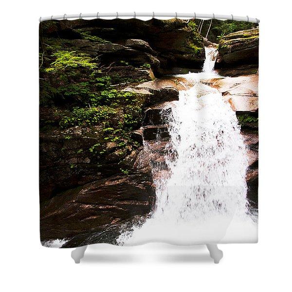 New Hampshire Waterfall Shower Curtain