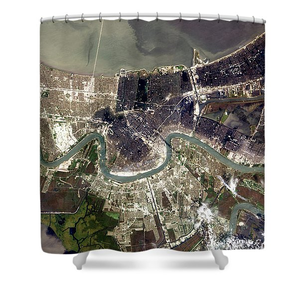New Orleans After Hurricane Katrina Shower Curtain
