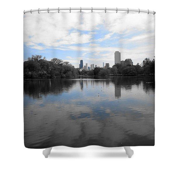 North Pond Shower Curtain