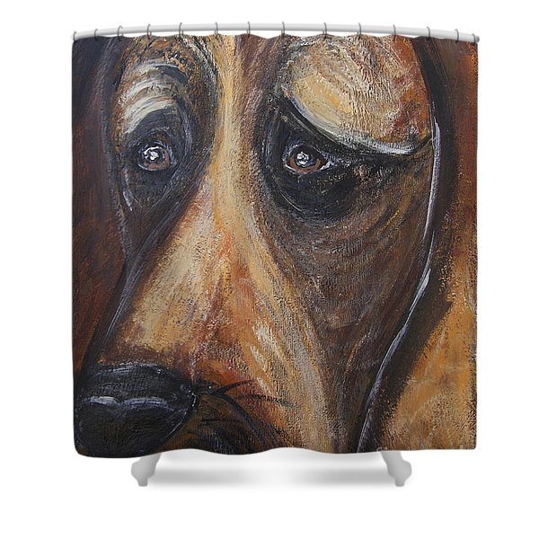 Nothin But A Hunddog Shower Curtain