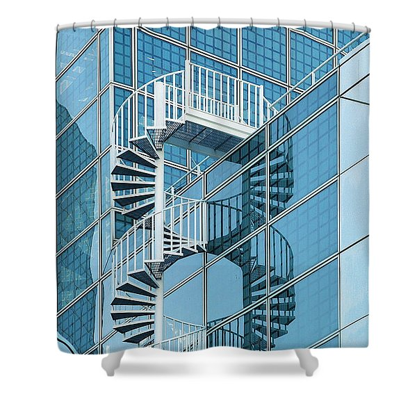 Number Eight Shower Curtain