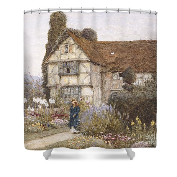 Old Manor House Shower Curtain