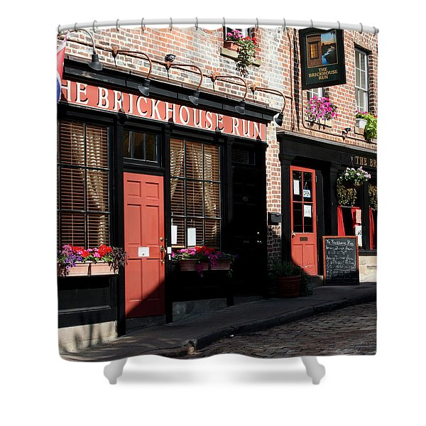 Old Towne Dining Shower Curtain