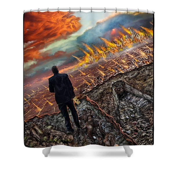One Percent  Shower Curtain