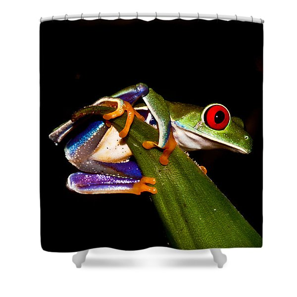 One Two Three Jump Shower Curtain