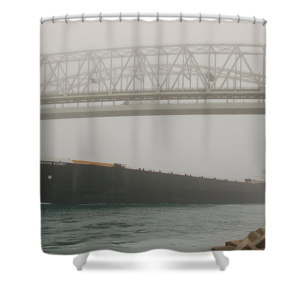 Only A Stones Throw Away Shower Curtain