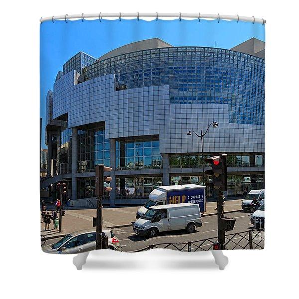 Opera De Paris Bastille Shower Curtain