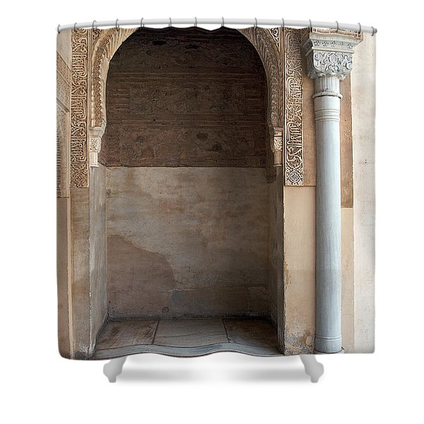 Ornate Arch And Pillar Shower Curtain