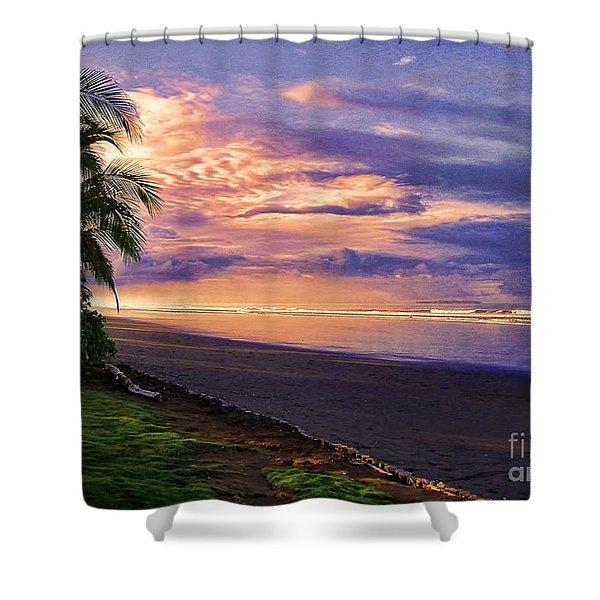 Pacific Sunrise Shower Curtain