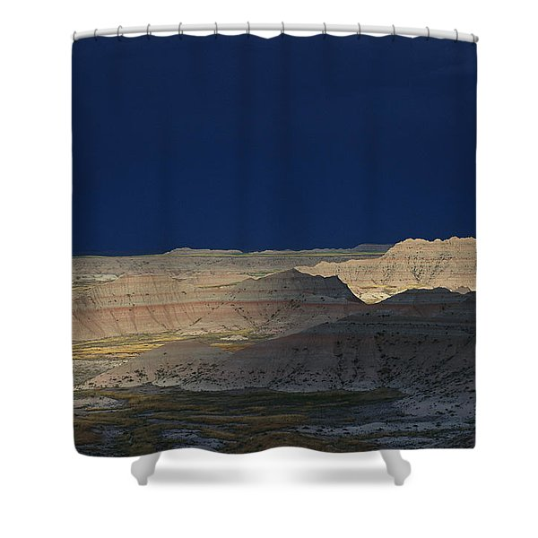 Panoramic View Of The Wall In South Shower Curtain