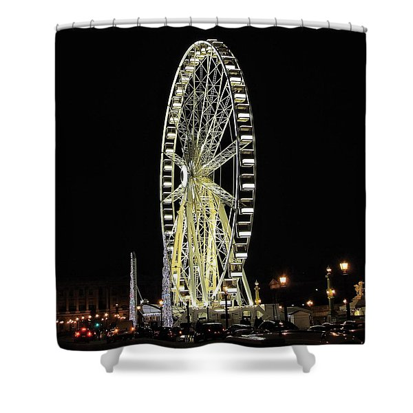 Parisian Night Shower Curtain