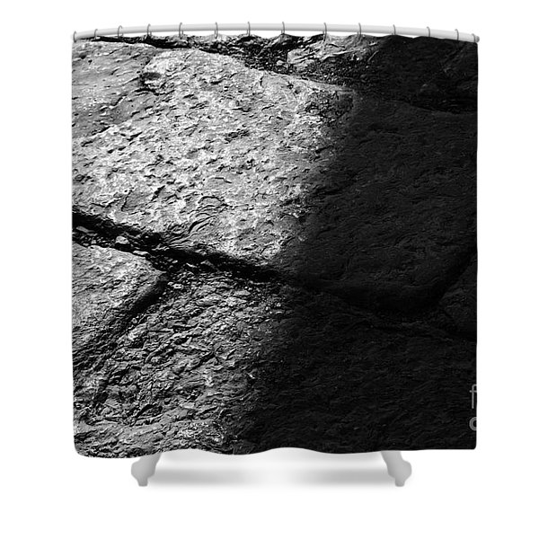 Shower Curtain featuring the photograph Pavement by Agusti Pardo Rossello