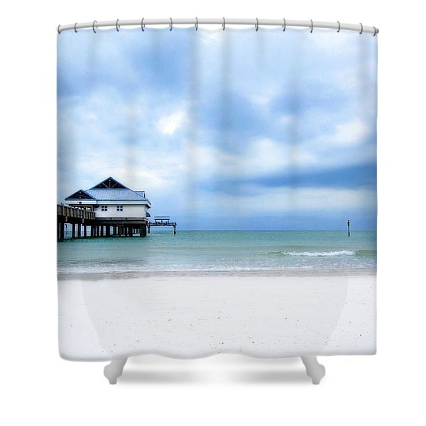 Pier 60 At Clearwater Beach Florida Shower Curtain