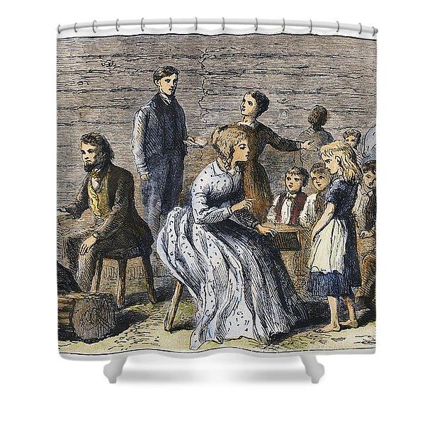 Pioneer Sunday School Shower Curtain