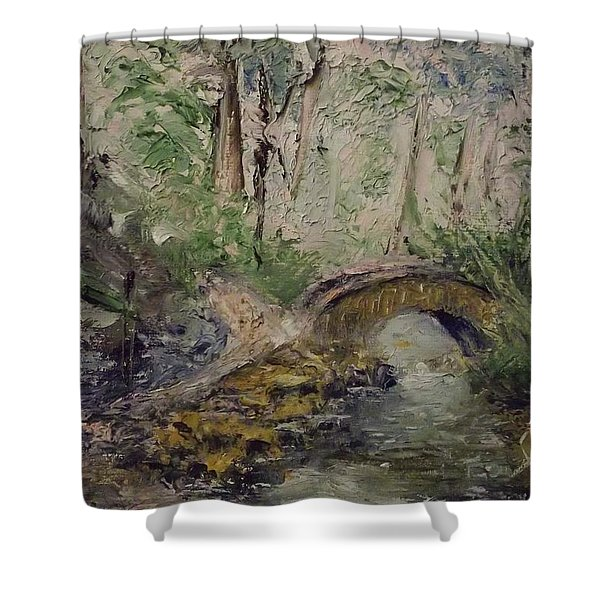 Pleasant Stroll Shower Curtain