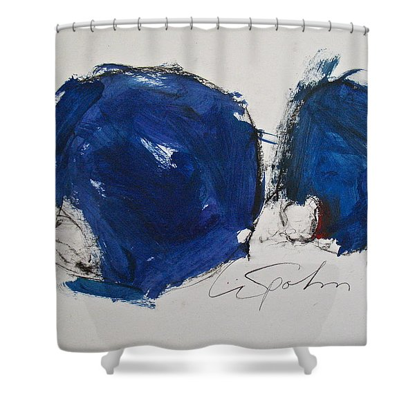 Shower Curtain featuring the painting Pomp And Circumstance by Cliff Spohn