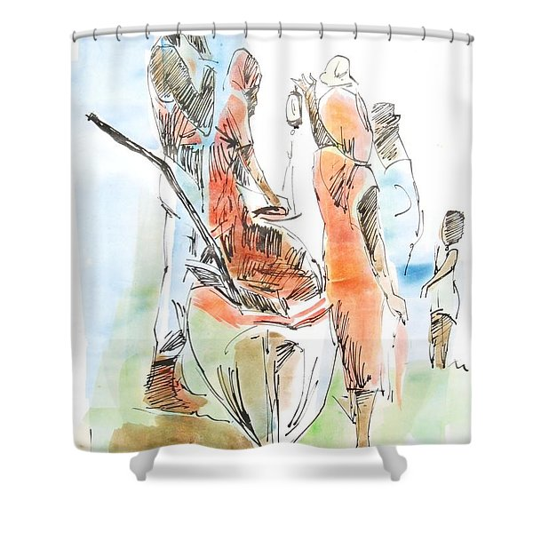 Port Royal Shower Curtain