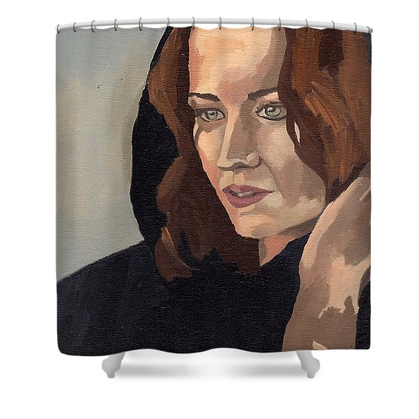 Portrait Of Becca 2 Shower Curtain