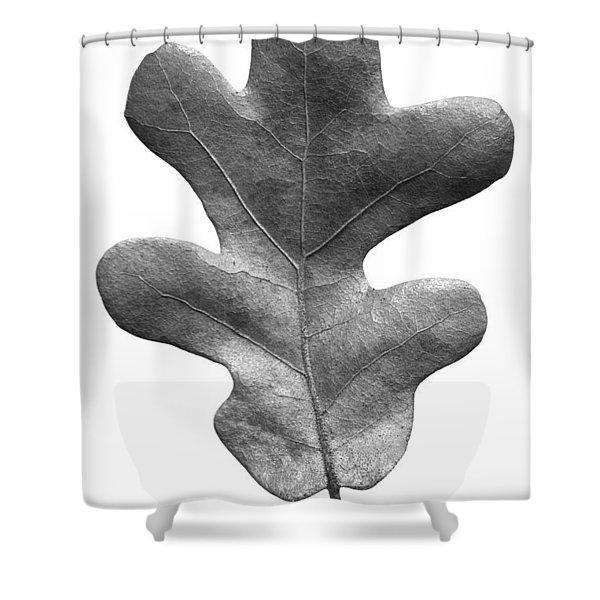 Post Oak Leaf Shower Curtain