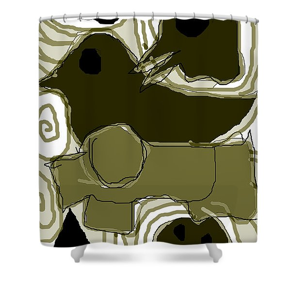 Poverty Point 1 Shower Curtain
