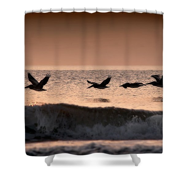 Predawn Formation Shower Curtain
