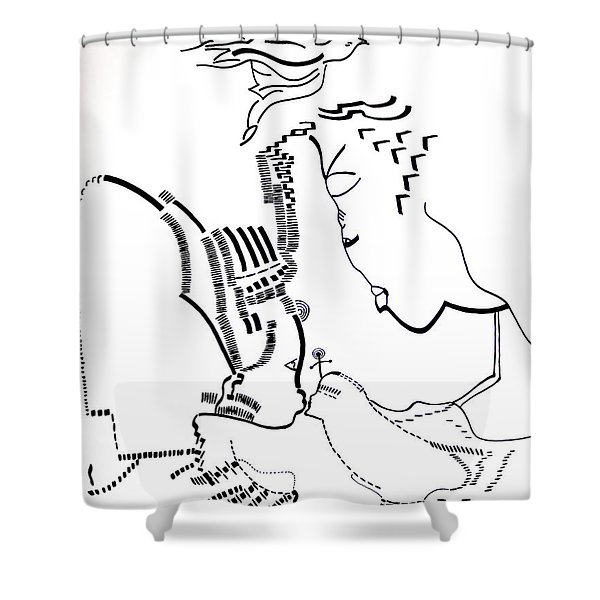 Presentation Of Jesus In The Temple Shower Curtain