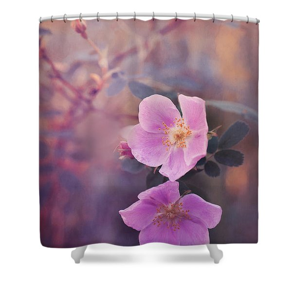 Prickly Rose Shower Curtain