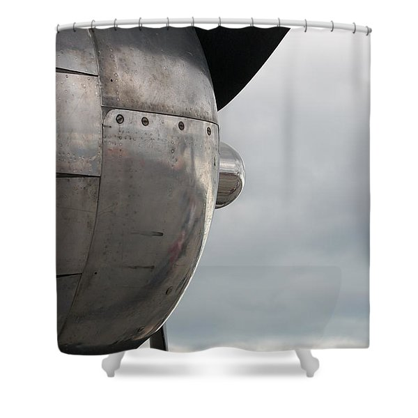 Prop In Sky Shower Curtain