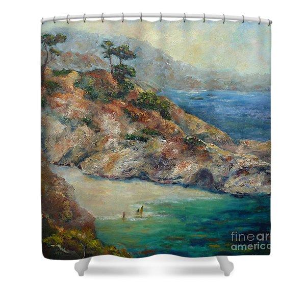 Pt Lobos View Shower Curtain