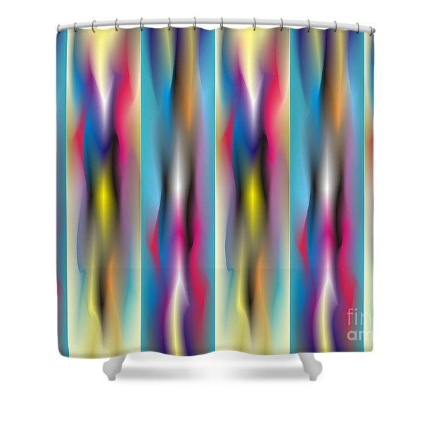 Quantum Medley 1 Shower Curtain
