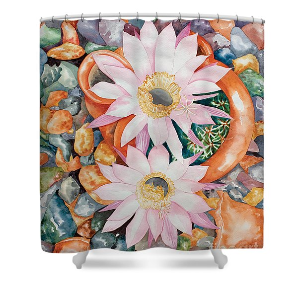 Queen Of The Night II Shower Curtain
