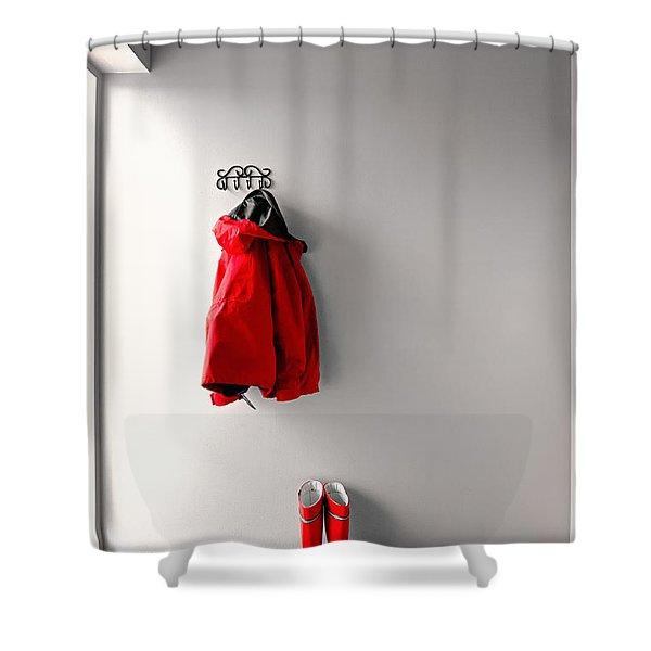 Ready For Rain Shower Curtain
