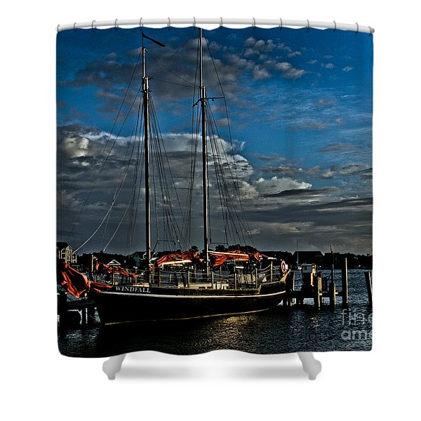 Ready To Sail Shower Curtain