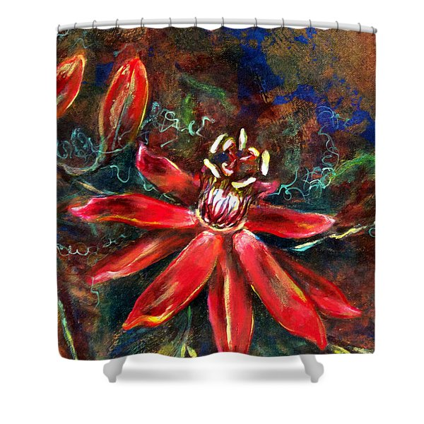 Red Passion Shower Curtain
