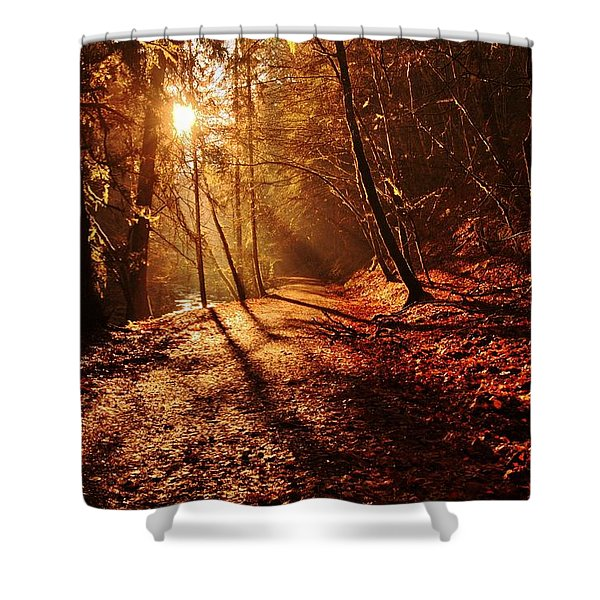 Reelig Sun Shower Curtain