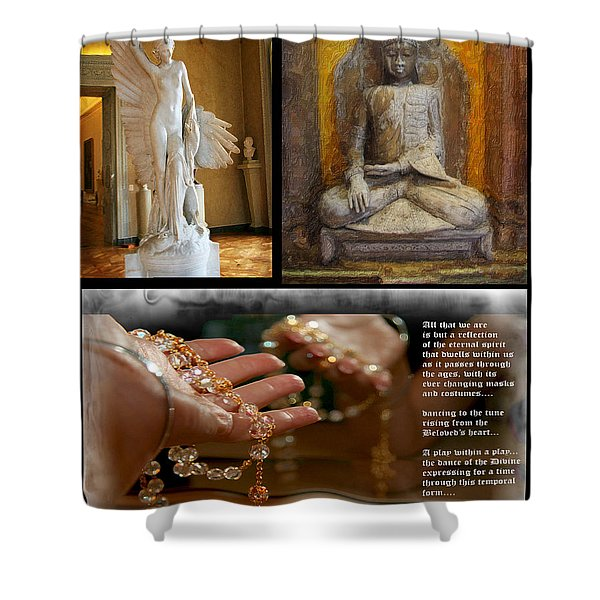 Reflections Of Spirit Shower Curtain