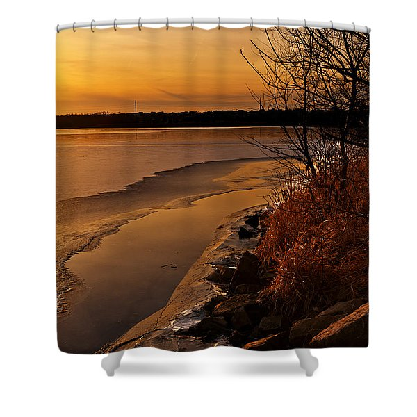 Refreeze Shower Curtain