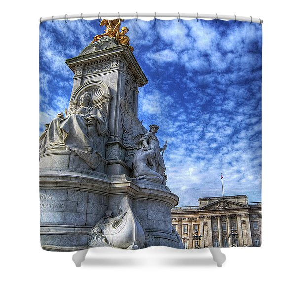 Regina Imperatrix 2.0 Shower Curtain