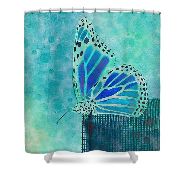 Reve De Papillon - S02a2 Shower Curtain