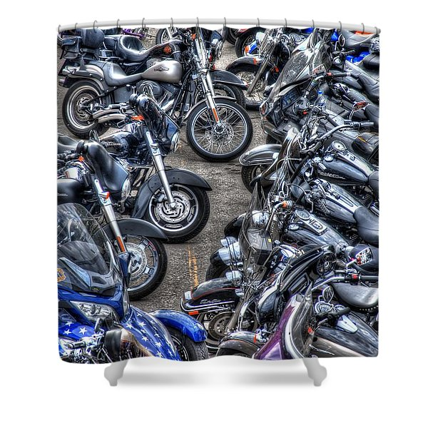 Ride And Shine Shower Curtain