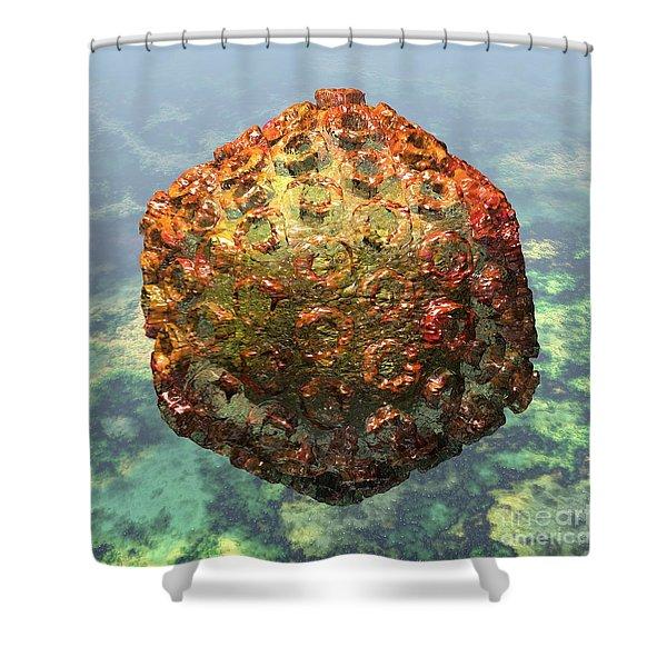 Rift Valley Fever Virus 1 Shower Curtain
