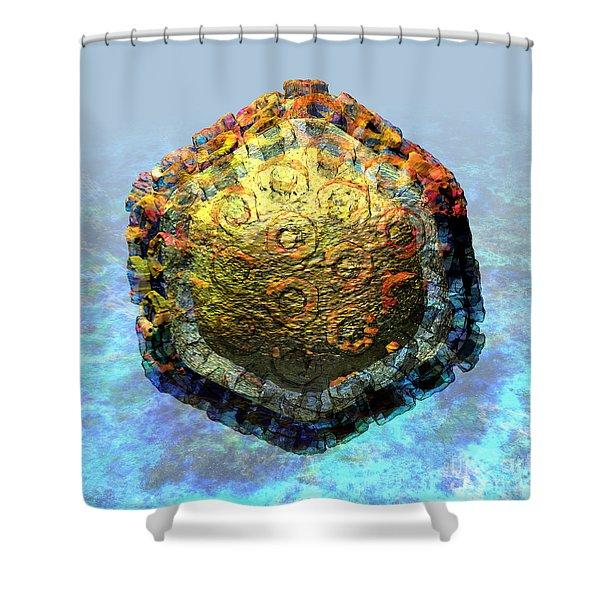 Rift Valley Fever Virus 2 Shower Curtain