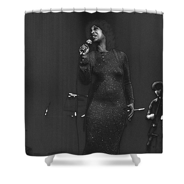 Roberta Sweed Shower Curtain