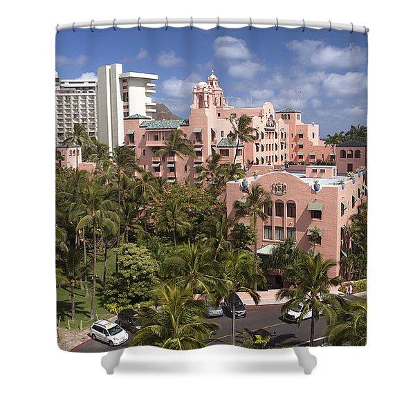 84cfe4f8b Royal Hawaiian Shower Curtains | Fine Art America