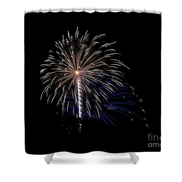 Rvr Fireworks 115 Shower Curtain