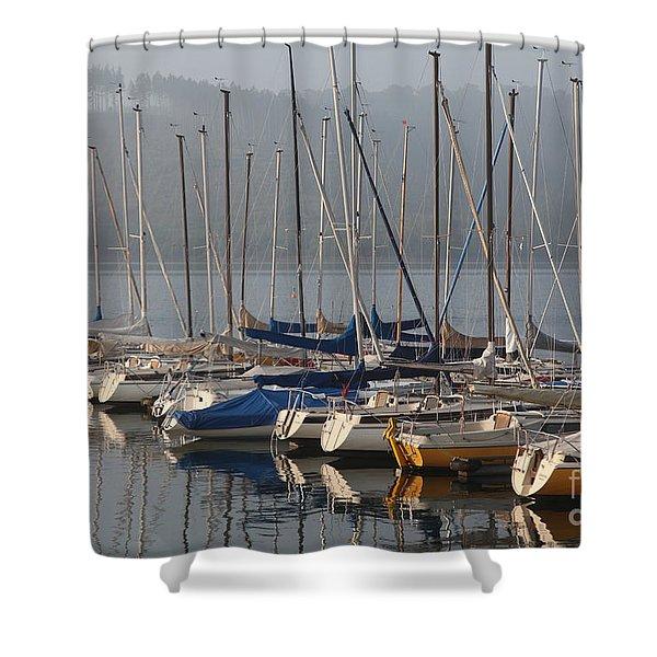 Sail Boats Shower Curtain
